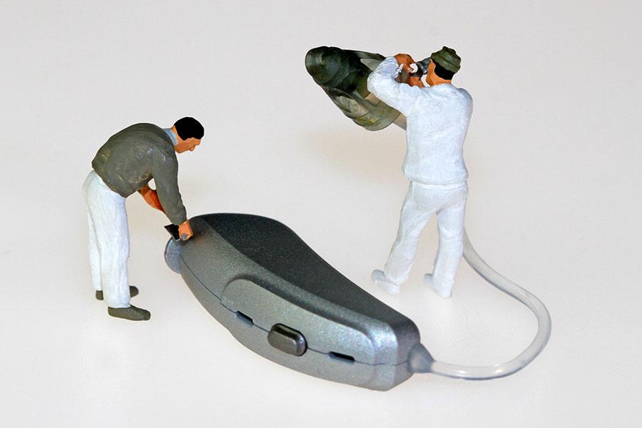Hearing Aid Repair & Maintenance