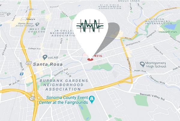 1111 Sonoma Ave. Suite 316 Santa Rosa, CA 95405